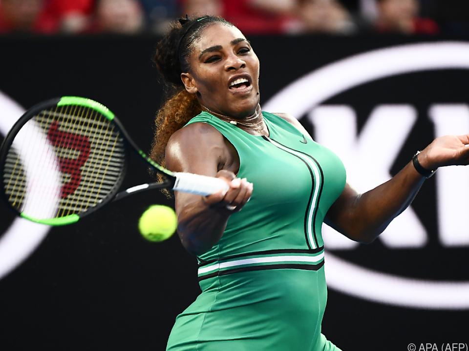 Serena Williams trifft nun auf Tschechin Pliskova