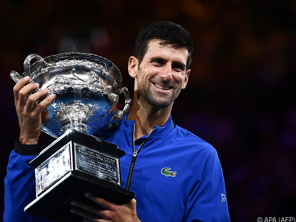 Siebenter Melbourne-Titel für Djokovic