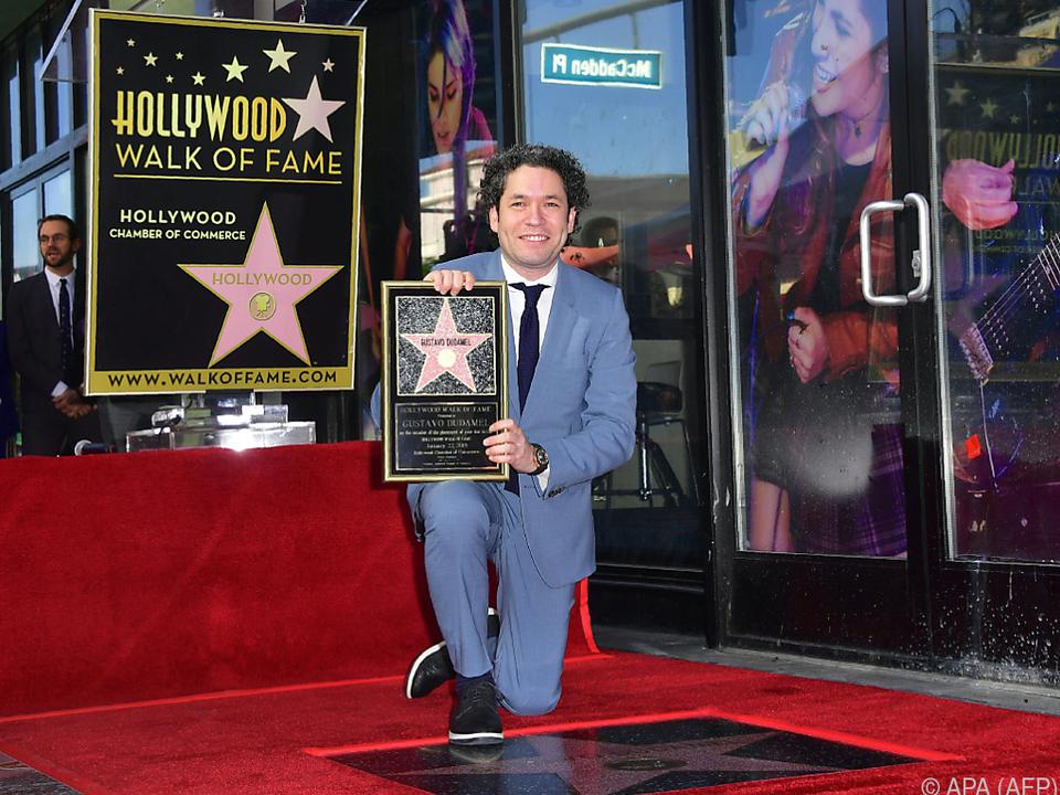 Stardirigent Gustavo Dudamel
