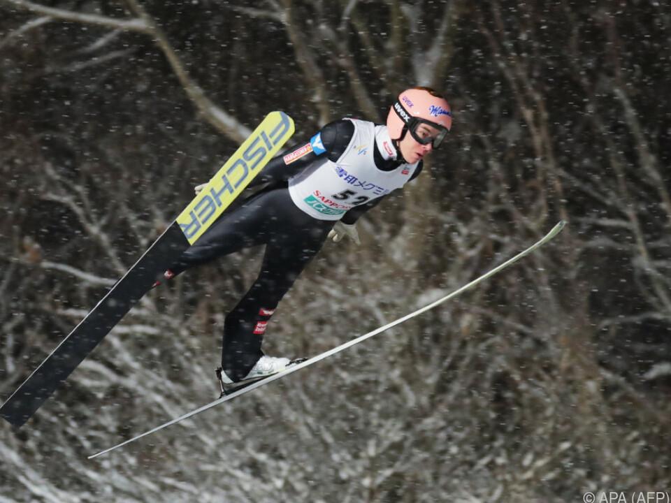 Stefan Kraft peilt den vierten Weltcup-Sieg in Folge an
