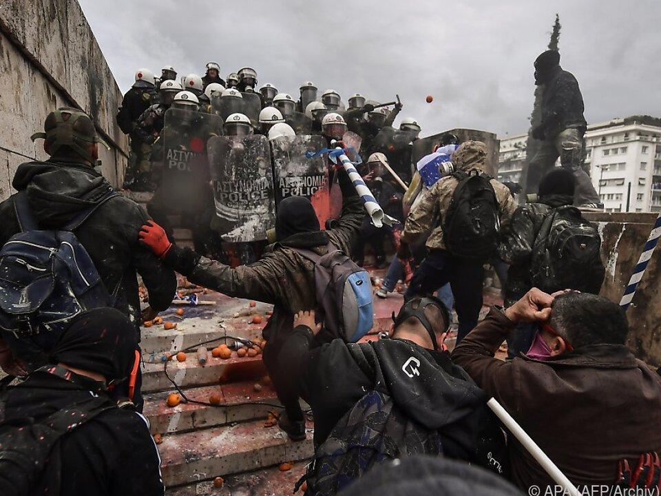 Streit um Namensänderung sorgte zuletzt für Unruhen in Griechenland