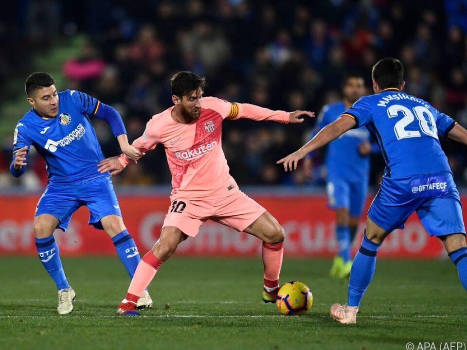Superstar Lionel Messi steuerte einen Treffer für sein Team bei