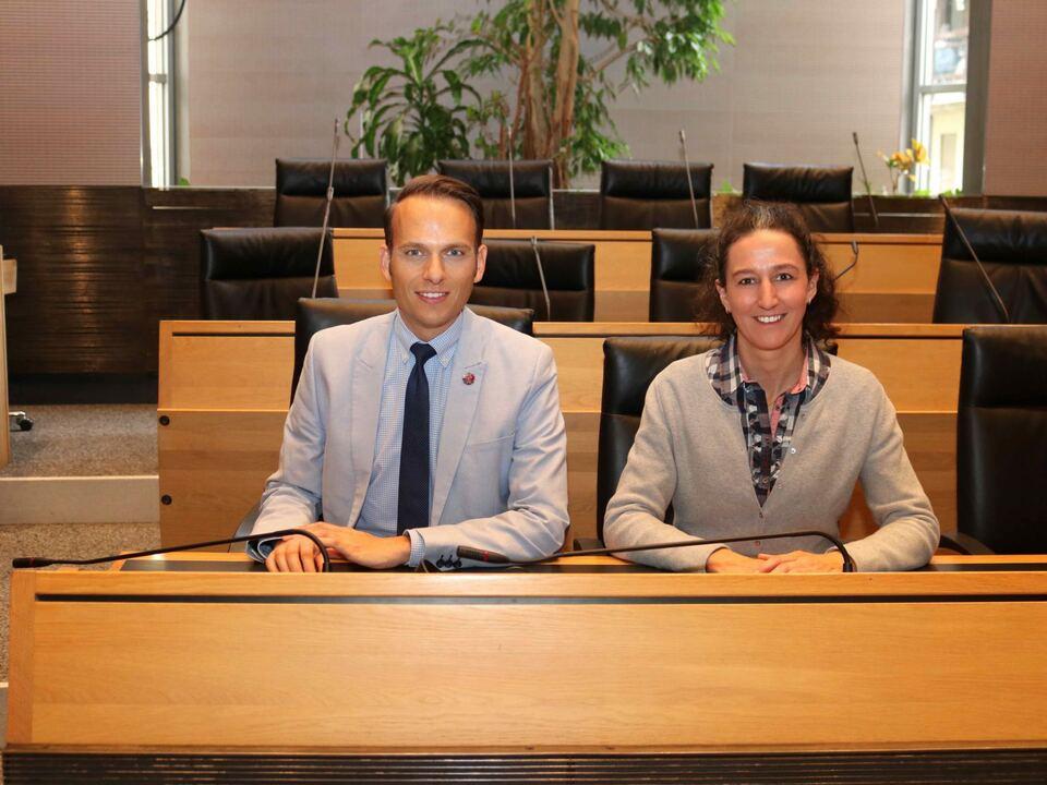 Sven Knol und Myriam Atz Tammerle
