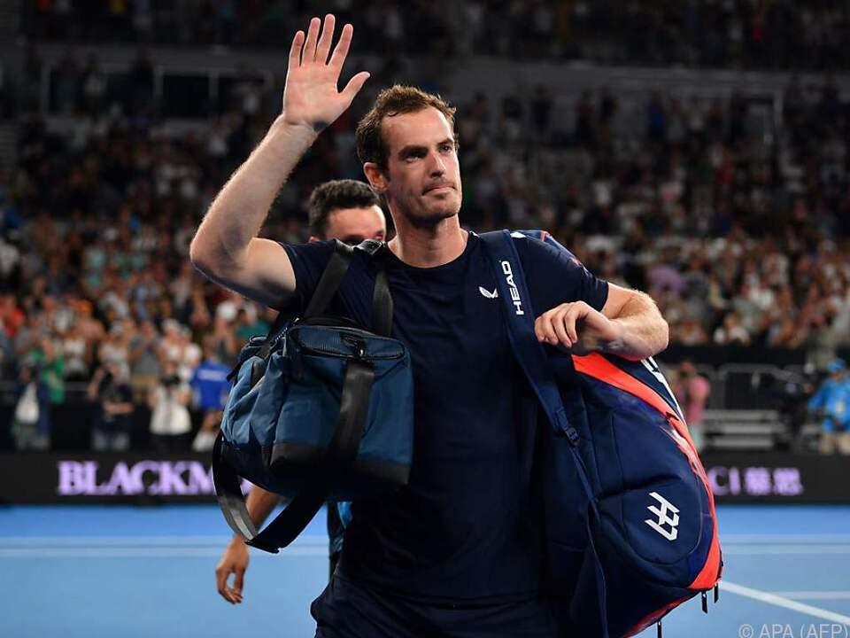 Tennis-Star Andy Murray