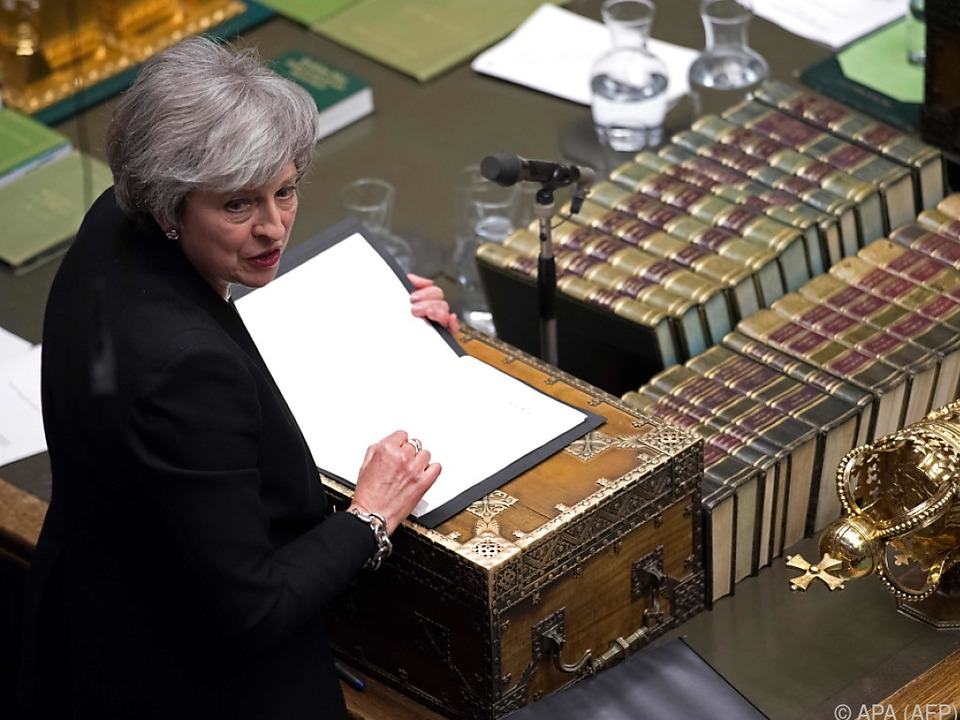 Theresa May steht unter starkem Druck