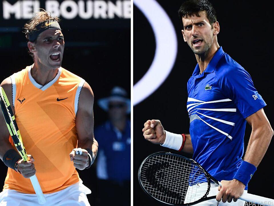 Traumfinale Nadal-Djokovic steigt am Sonntag in Melbourne