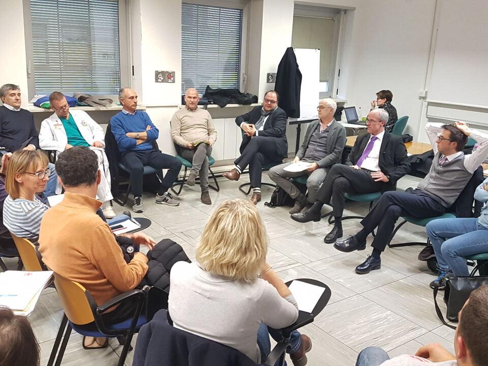 Treffen der Betriebsdirektion mit den Gewerkschaftsorganisationen