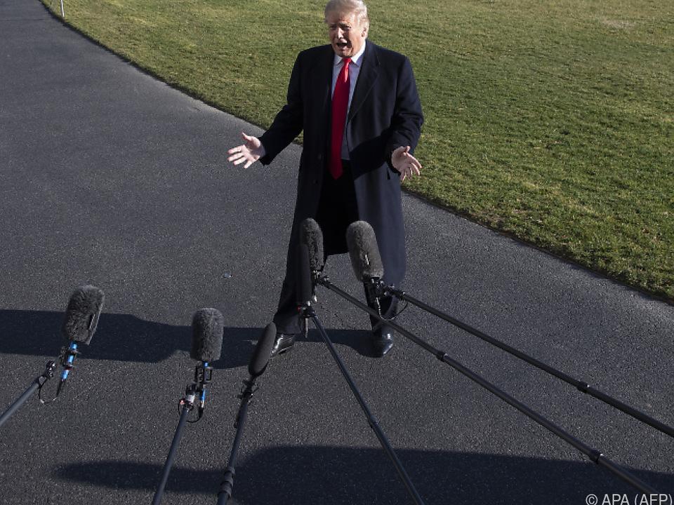 Trump spricht wieder verstärkt von der Mauer zu Mexiko