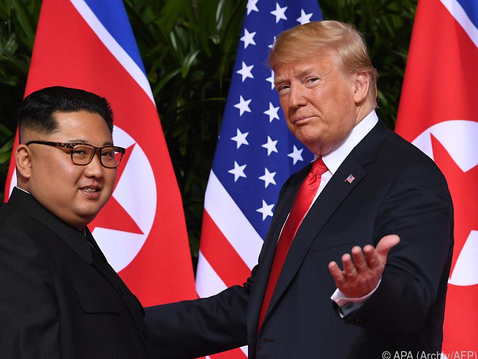 Trump und Kim Jong-un könnten bald wieder aufeinandertreffen