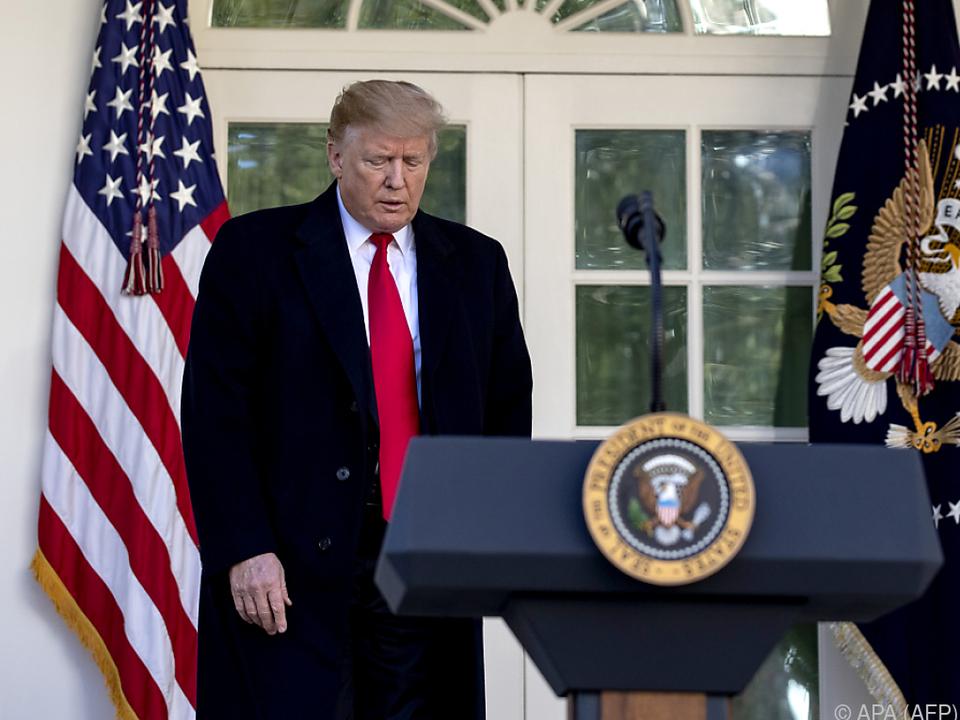 Trump zeigt sich bezüglich der Gespräche mit den Taliban optimistisch