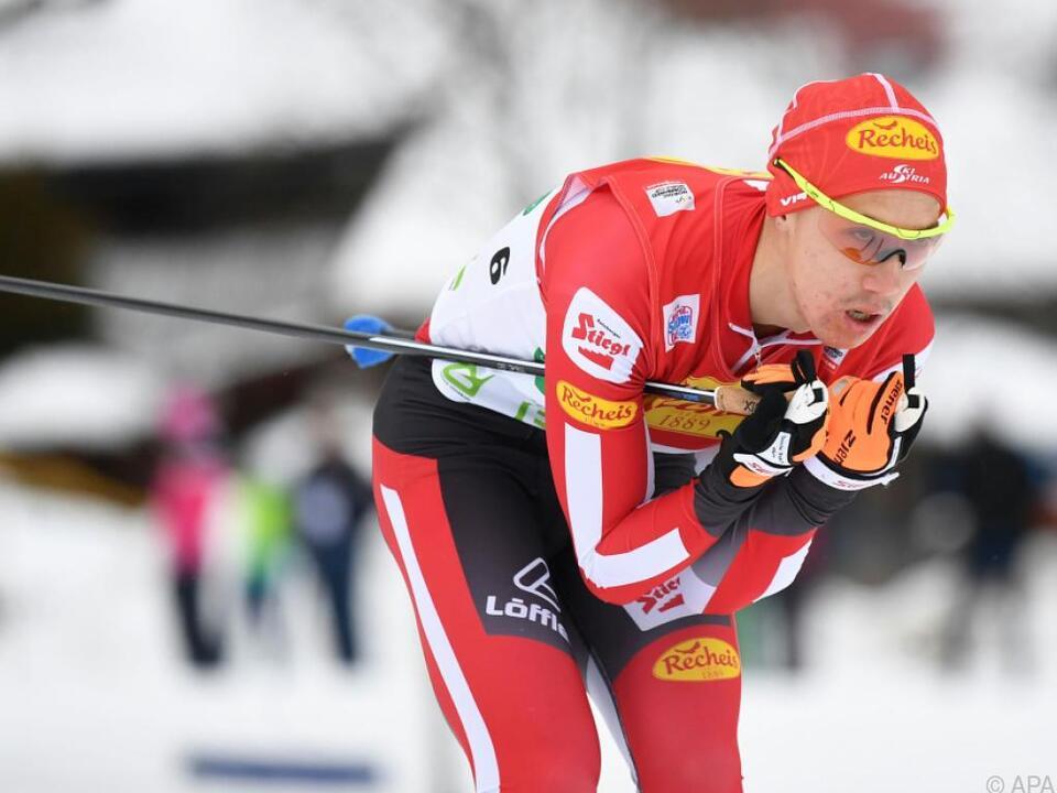 Vierter Platz für Mario Seidl