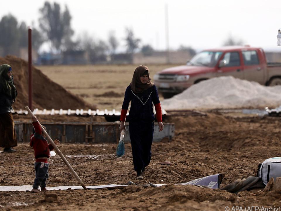 Vor allem Frauen und Kinder wurden evakuiert