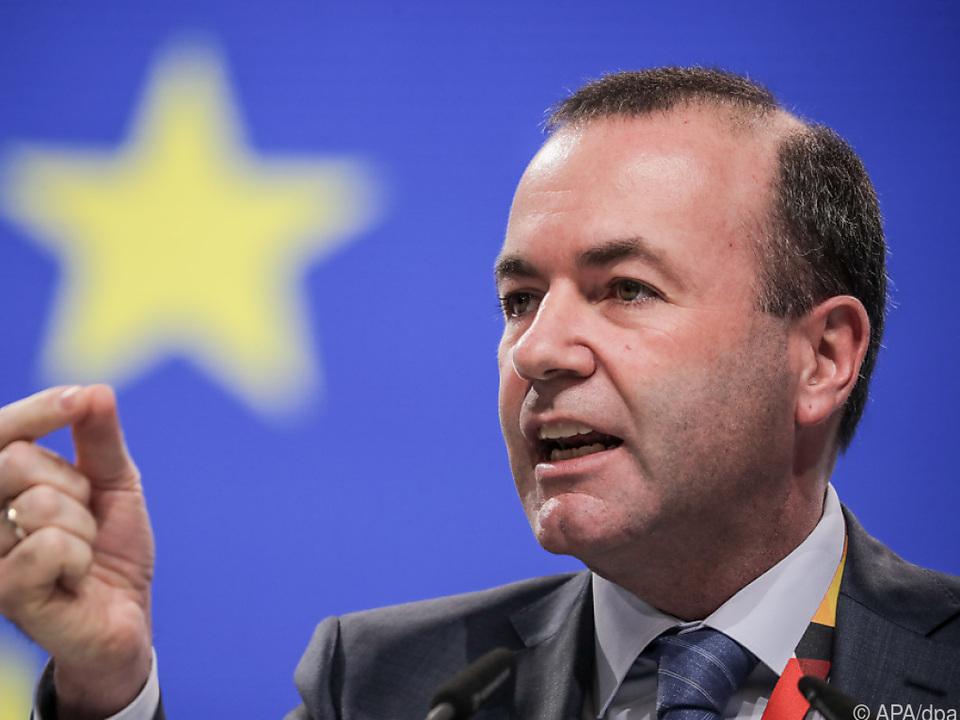 Weber ist Spitzenkandidat für die EU-Wahl Ende Mai