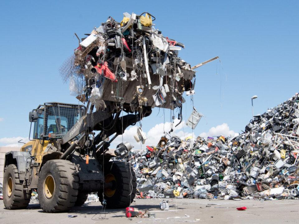 Weniger als ein Fünftel des Mülls wird aufbereitet