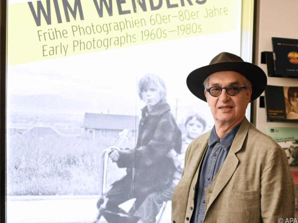 Wim Wenders lädt zur Ausstellung
