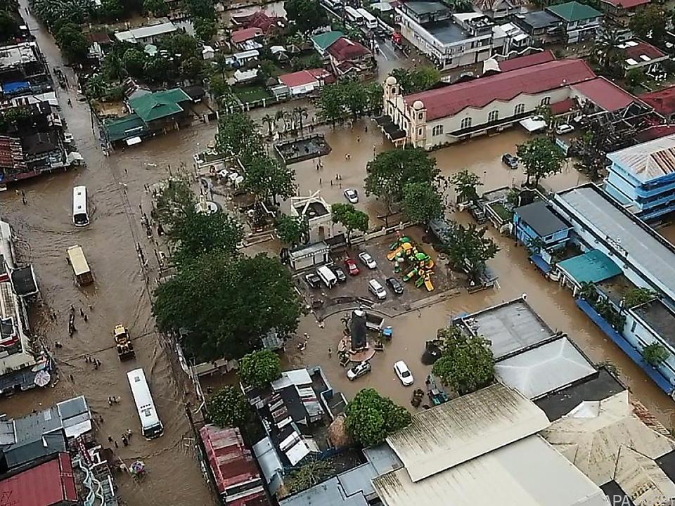 Zahlreiche Gebiete wurden überschwemmt