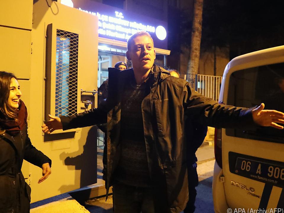 Zirngast wurde am 24. Dezember freigelassen