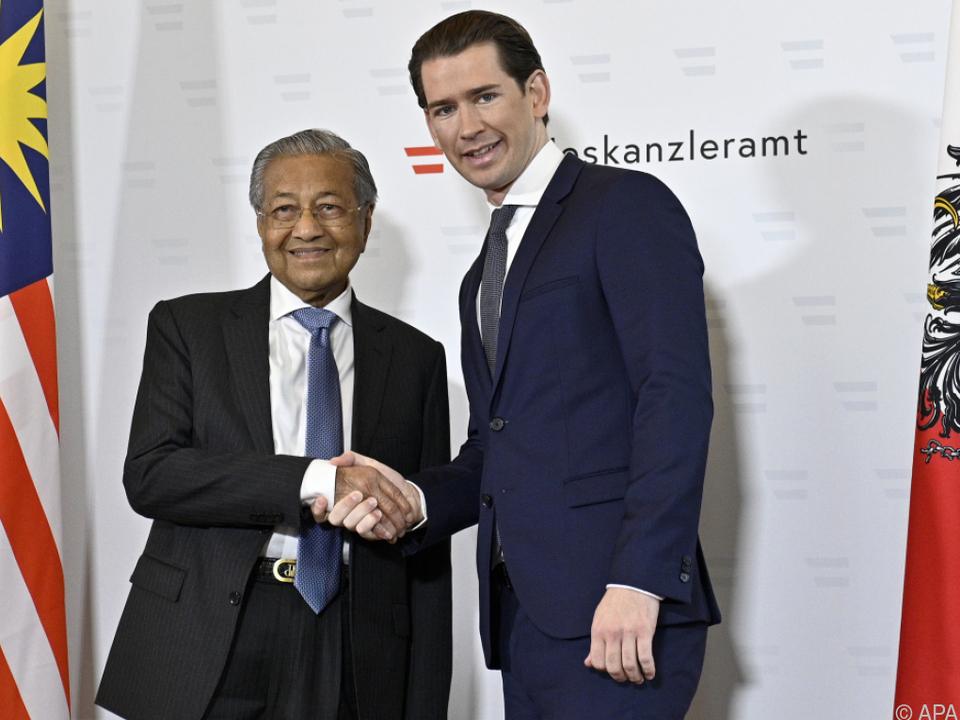 Zwischen den beiden Regierungschefs liegen 61 Jahre