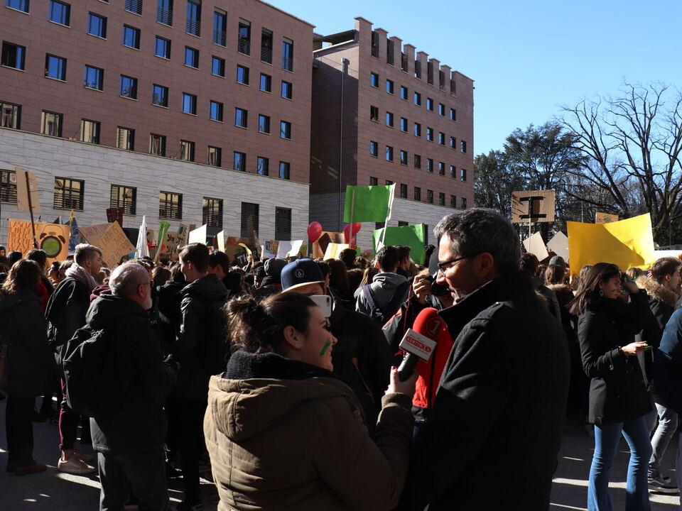 Schülerprotest klima_manifestazione_kompatscher