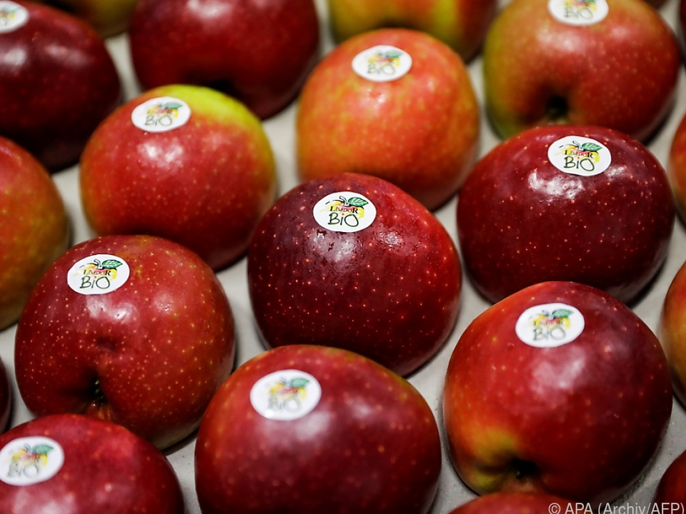 11 Prozent Anteil an Bio-Obst