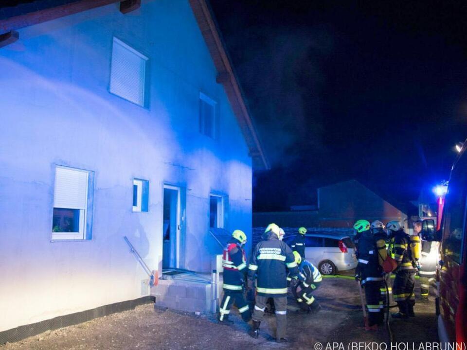 60 Feuerwehrleute standen im Einsatz