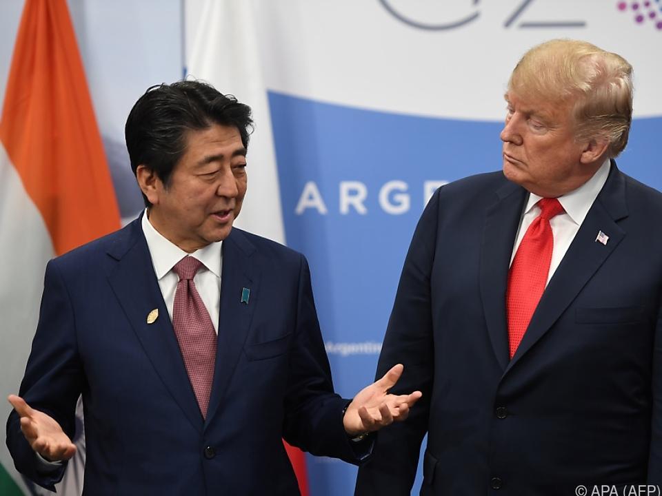 Abe kam Wunsch des US-Präsidenten nach