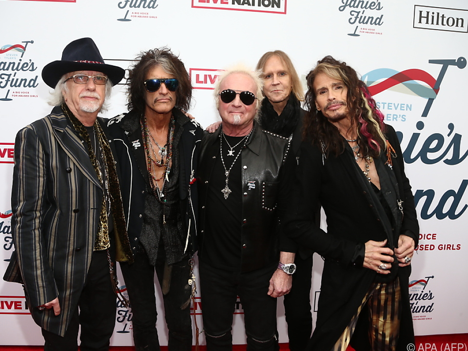 Aerosmith muss auf Zeremonie warten