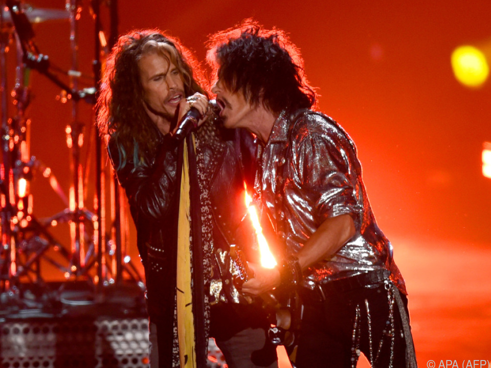 Aerosmith plant eine Konzertreihe in Las Vegas