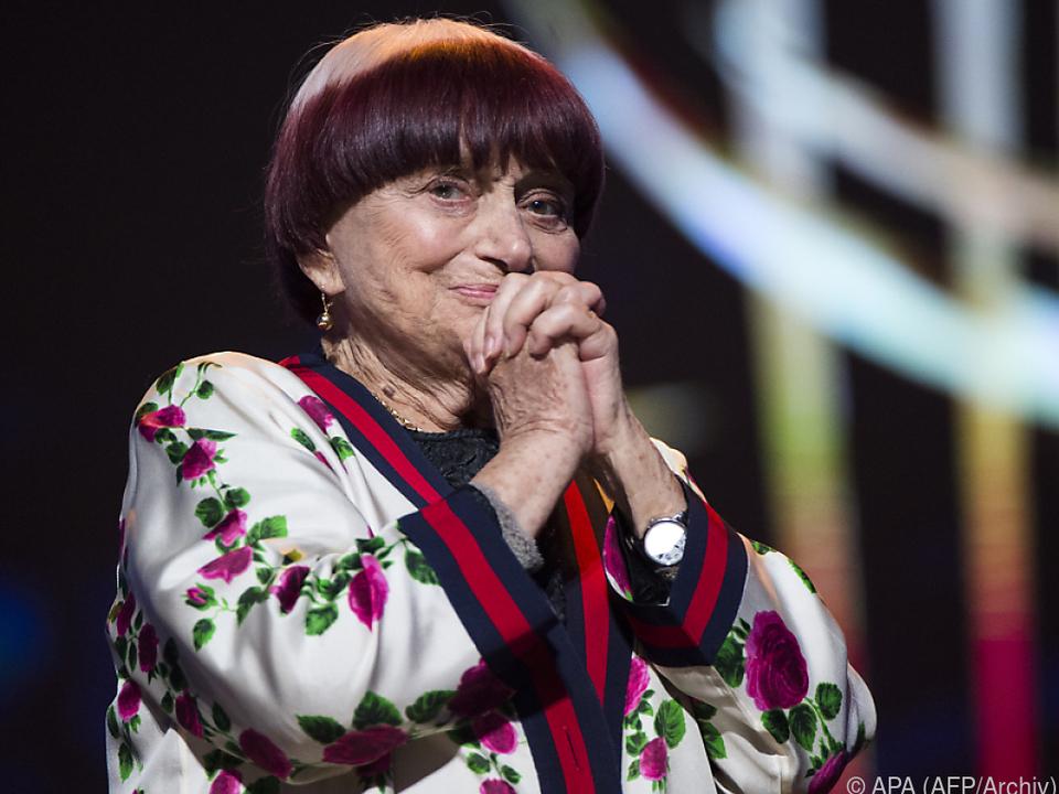 Agnes Varda ist gern gesehener Gast in Berlin