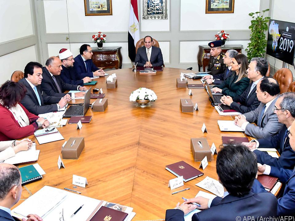 Al-Sisi könnte bis 2034 an der Macht bleiben