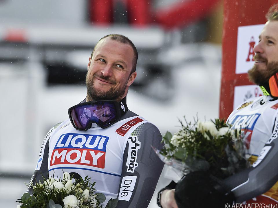Altmeister Svindal knapp geschlagen aber ohne Groll zum Abschied