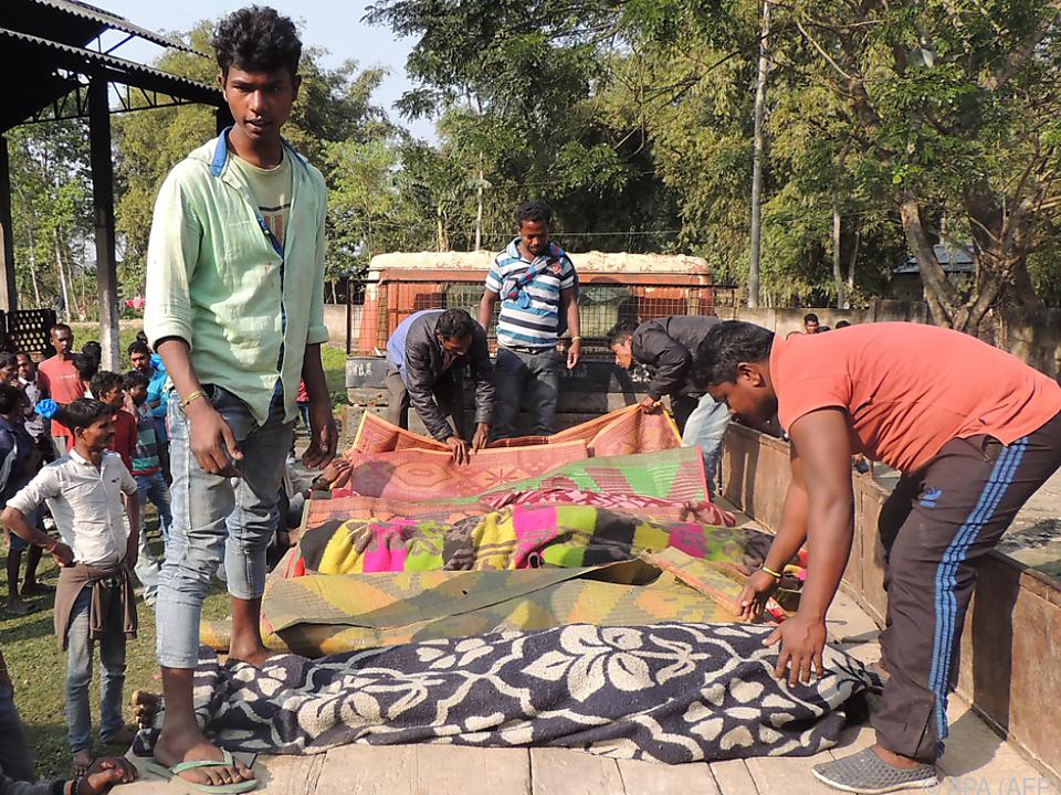 Arbeiter auf Teeplantagen betroffen