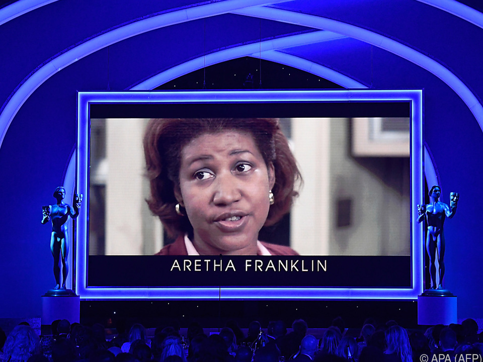 Aretha Franklin starb im August 2018