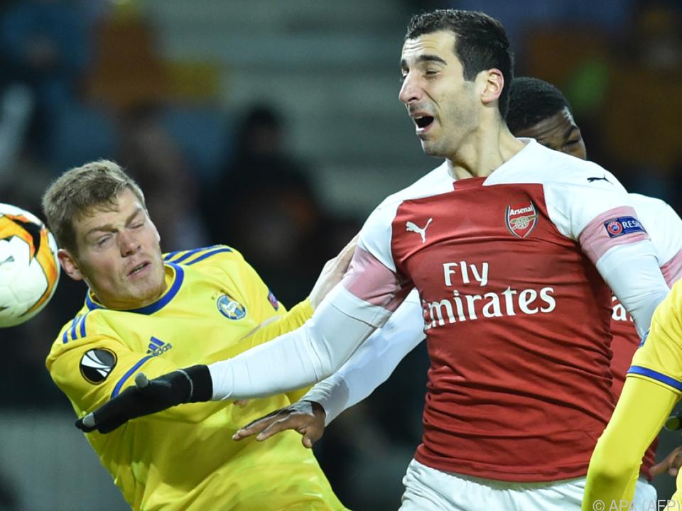 Arsenal hofft aufs Heimspiel