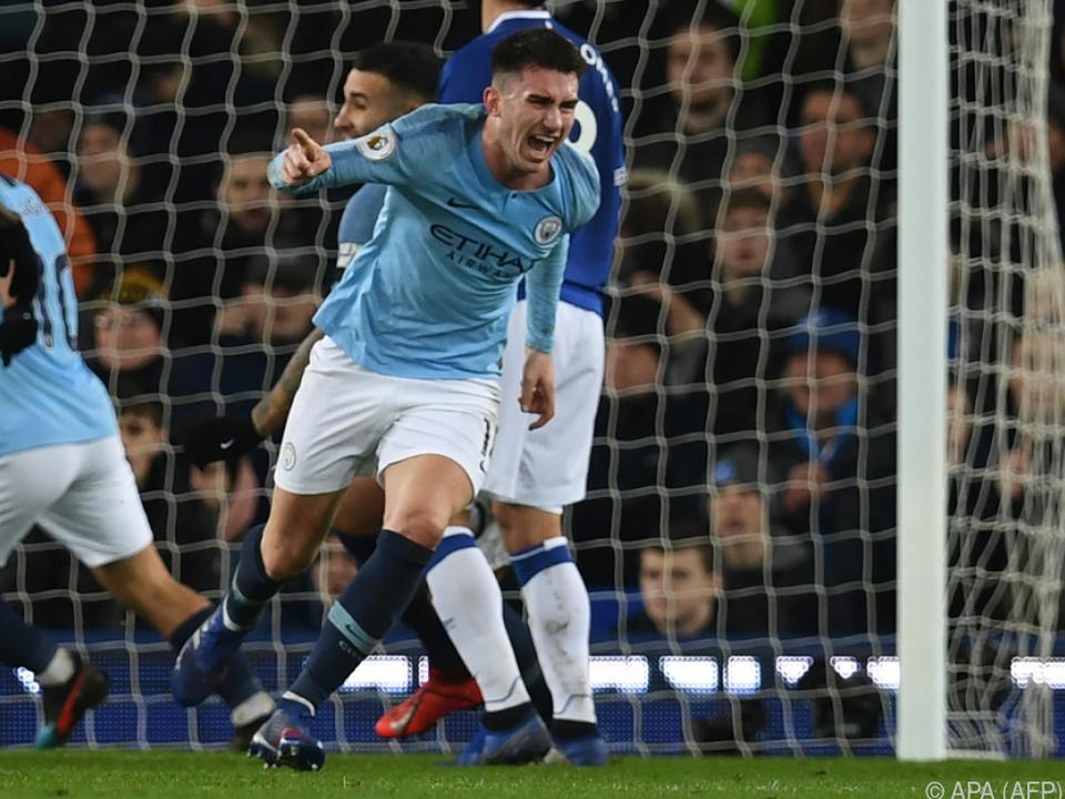 Aymeric Laporte brachte Manchester City in Führung