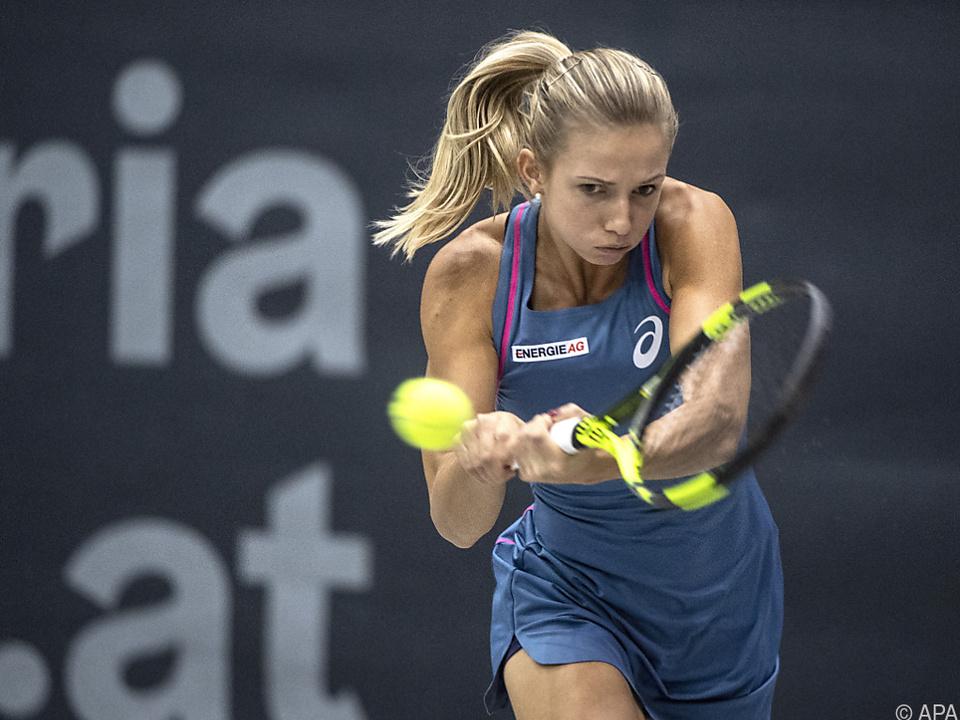 Barbara Haas ist Österreichs Top-Spielerin