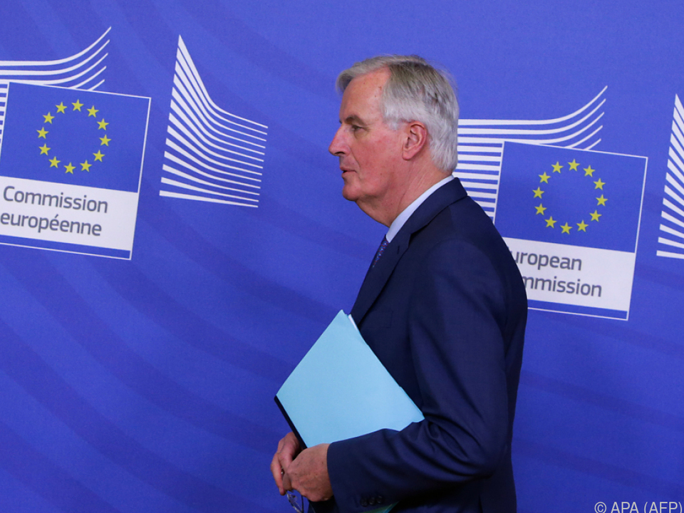 Barnier schickte ein deutliches Zeichen in Richtung Großbritannien