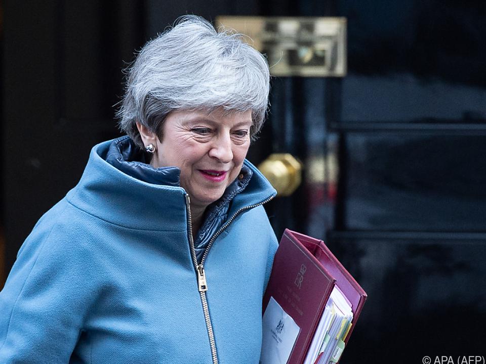 Bei den Konservativen um Premierministerin May herrscht Unsicherheit