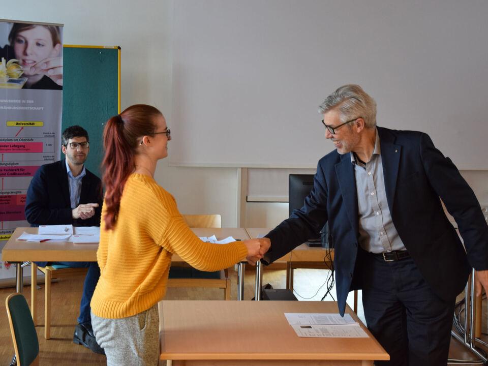 Bewerbungstraining (c) Fachschule Tisens
