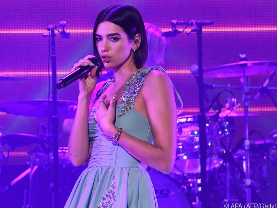 Britische Popsängerin Dua Lipa hat bodenständige Wünsche