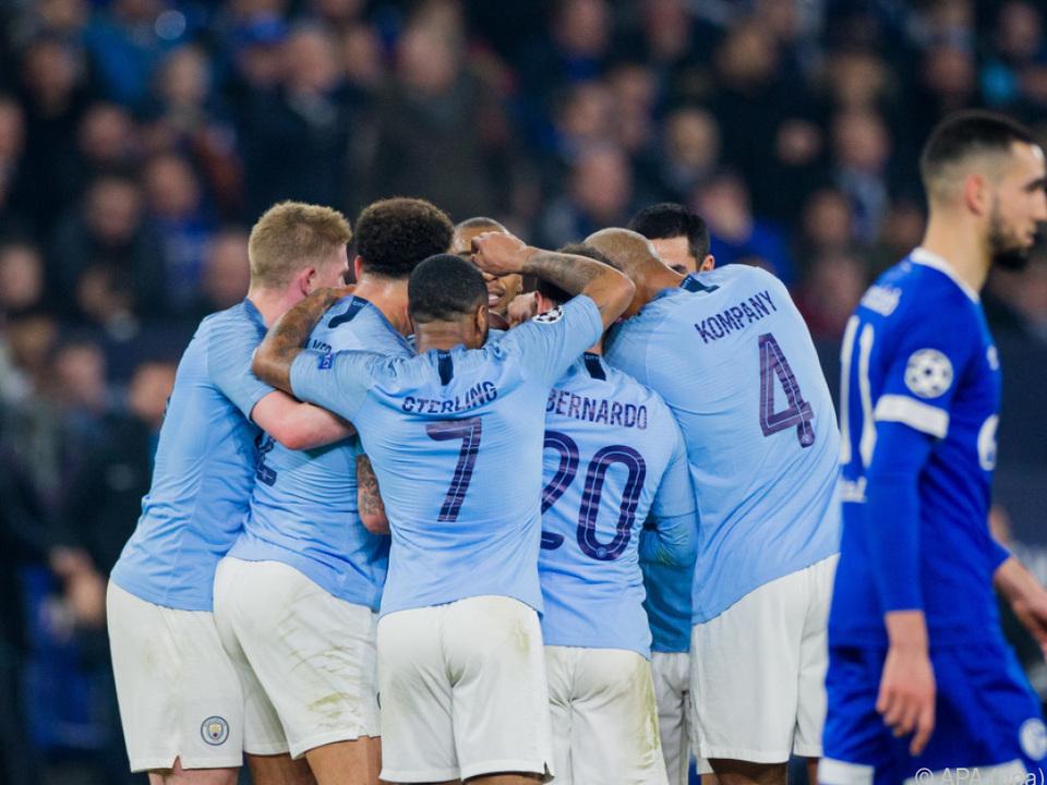 City besiegte Schalke