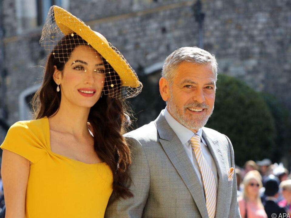 Clooney war bei der Hochzeit von Prinz Harry und Meghan