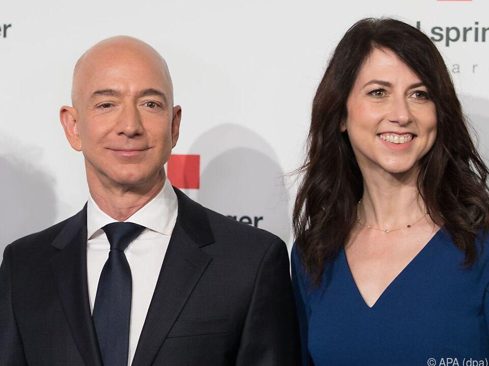 Das Ehepaar Bezos hat die Scheidung angekündigt