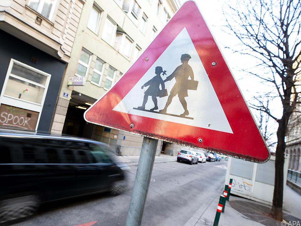 Das KFV will Kinder im Stadtverkehr besser schützen