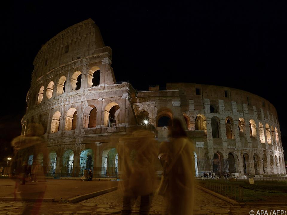 Das Kolosseum war das meistbesuchte Monument Italiens