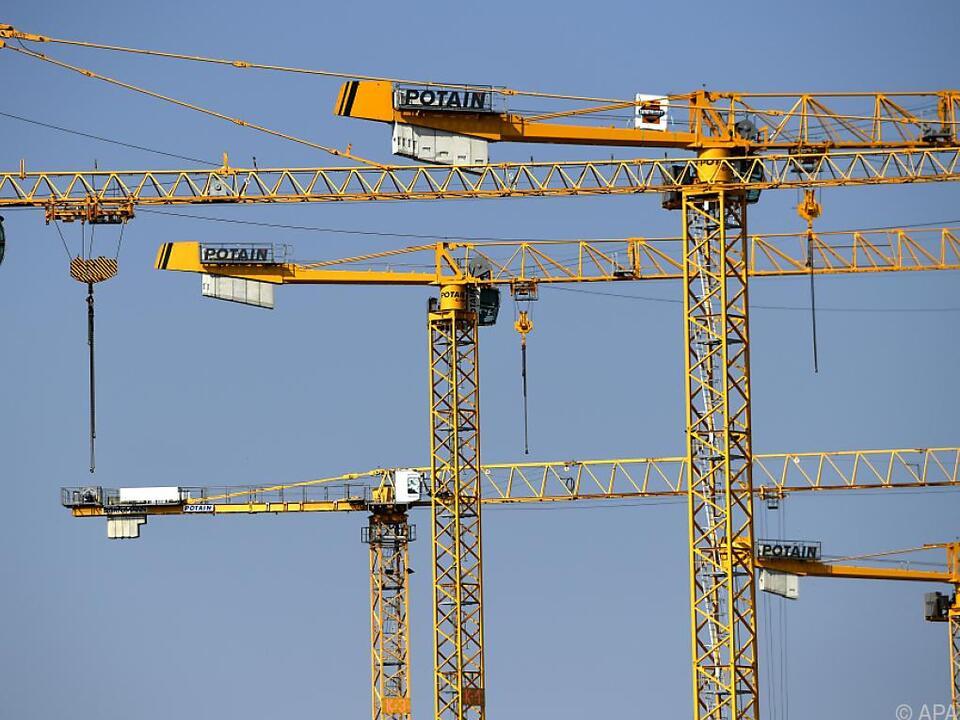 Das österreichische Baugewerbe dürfte weiter boomen baustelle wirtschaft arbeit