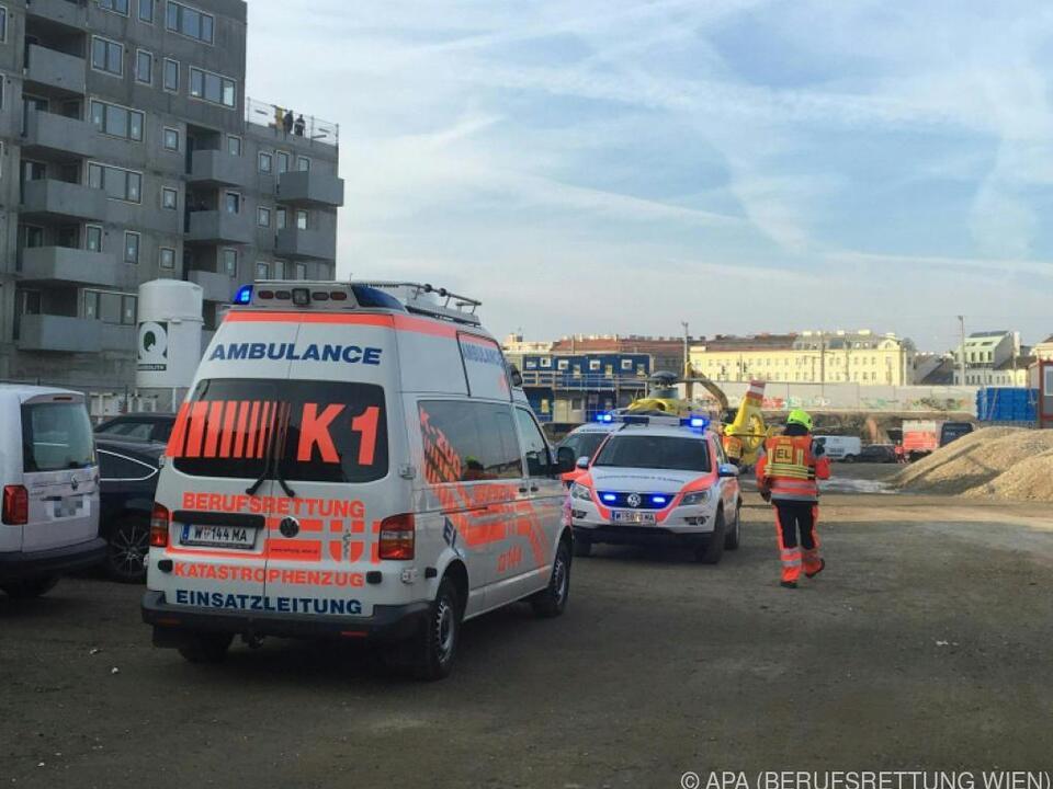 Der Bauarbeiter erlag seine schweren Verletzungen im Krankenhaus