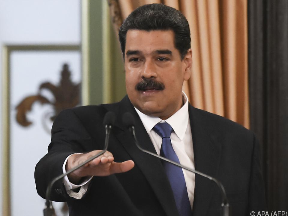Der venezuelanische Staatschef ist weiter unter Druck