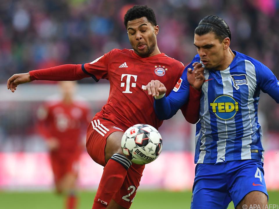 Die Bayern erarbeiteten sich ein 1:0