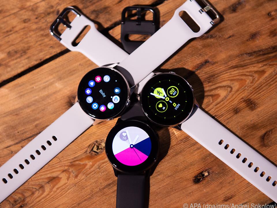 Die Galaxy Watch Active soll unter anderem mehr Trainingsarten erkennen können